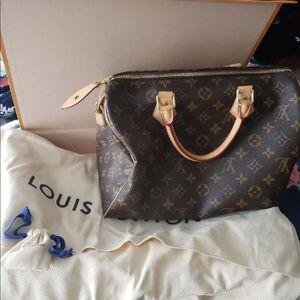 Authentic Louis Vuitton Speedy 30 pocket book